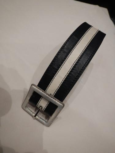 Defile de Marques belt navy and beige