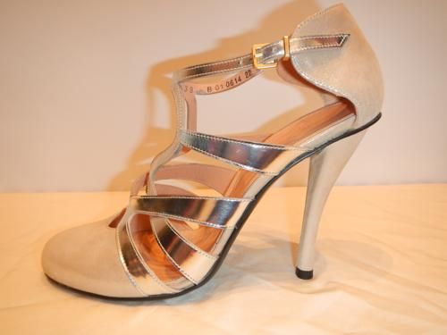 Clergerie shoes  silver and beige T.39