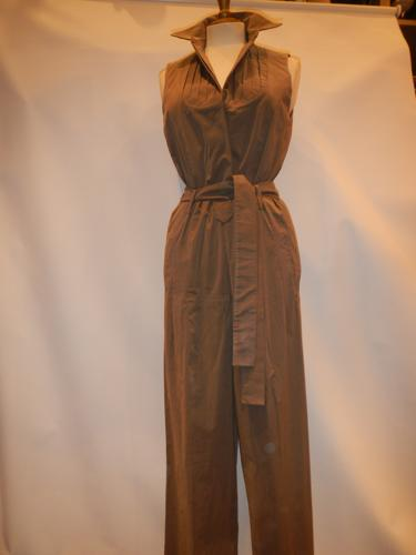 Yves Saint Laurent jumpsuit brown cotton T.36.