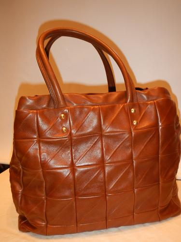 Sac Yves Saint Laurent  cabas marron