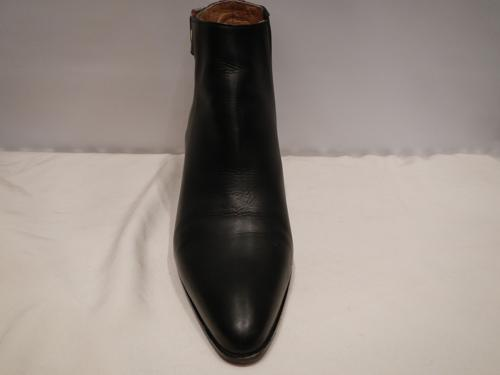 Boots Hermes black leather T.40.5