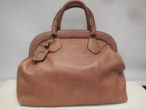Prada bag leather beige