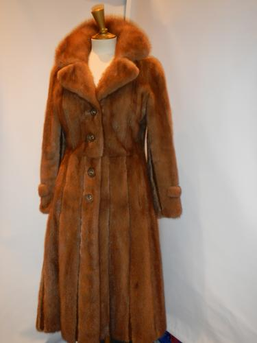 Mink coat clear naturalD�fil� de Marques T36/38
