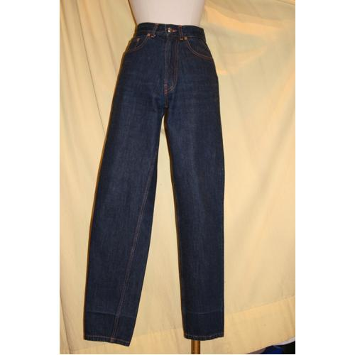 PANTALON YVES SAINT LAURENT JEAN BLEU