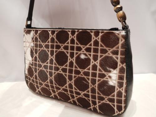 Dior bag in calfskin monogram brown