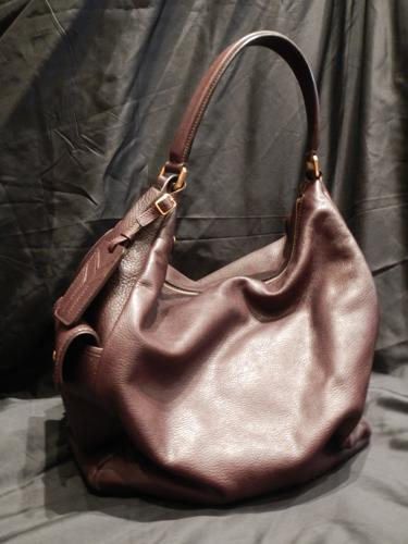Sac cabas Yves Saint Laurent marron