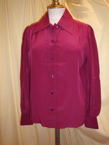 BLOUSE GIVENCHY PRUNE T.38/40