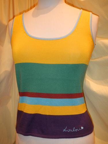 Loulou de la Falaise sweater sleeveless S.36