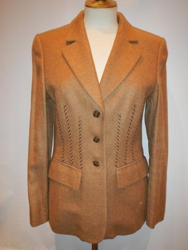Jacket Escada  beige wool.T.38