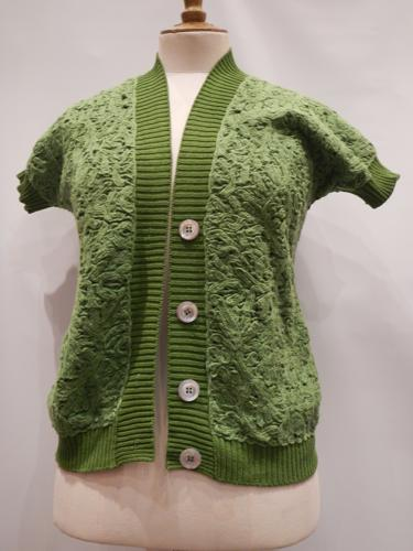 Malo vest cotton  green T36.