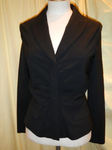 Prada jacket wool-lycra black  S.38